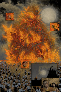 Fiery deaths caused by the bloodthirsty Moon Clan!